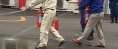 消防防災訓練実施