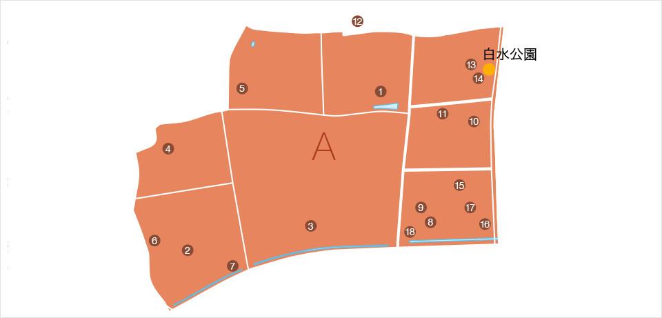 物資等協力企業マップ ブロックA