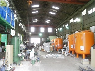 伸栄工業 工場内