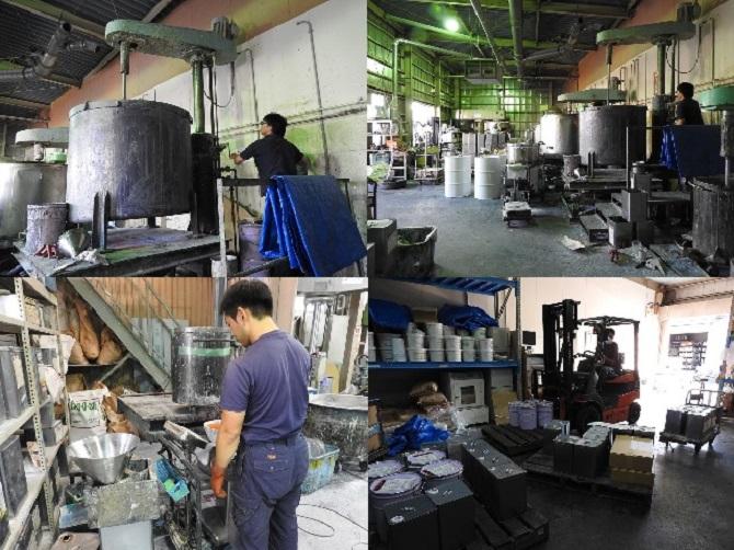 石川インキ 工場内